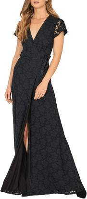 Amuse Society Great Lengths Wrap Dress