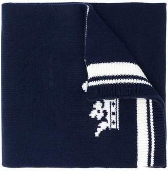 Dolce & Gabbana logo patch scarf