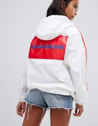 Calvin Klein Jeans Calvin Klein Windbreaker Jacket with Block Logo