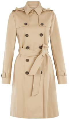 Hobbs Hooded Saffie Trench Coat