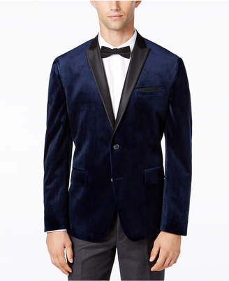 INC International Concepts I.n.c. Men Slim-Fit Velvet Blazer