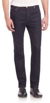 Wesc Eddy Slim Straight Black Rinse Jeans