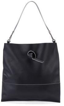 Hugo Boss Modern Day Tote Italian Leather Handbag, Detachable Strap One Size Black $755 thestylecure.com