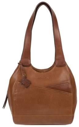 At Debenhams Conkca London Dark Tan And Conker Brown Juliet Handmade Leather Handbag