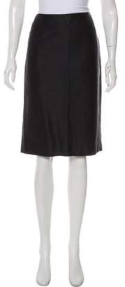 Theyskens' Theory Long Sleeve Knee-Length Skirt Set