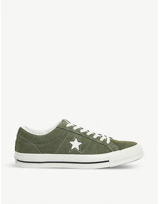 Converse One Star suede low-top trainers