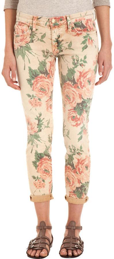 Current/Elliott The Stiletto- Haystack Floral