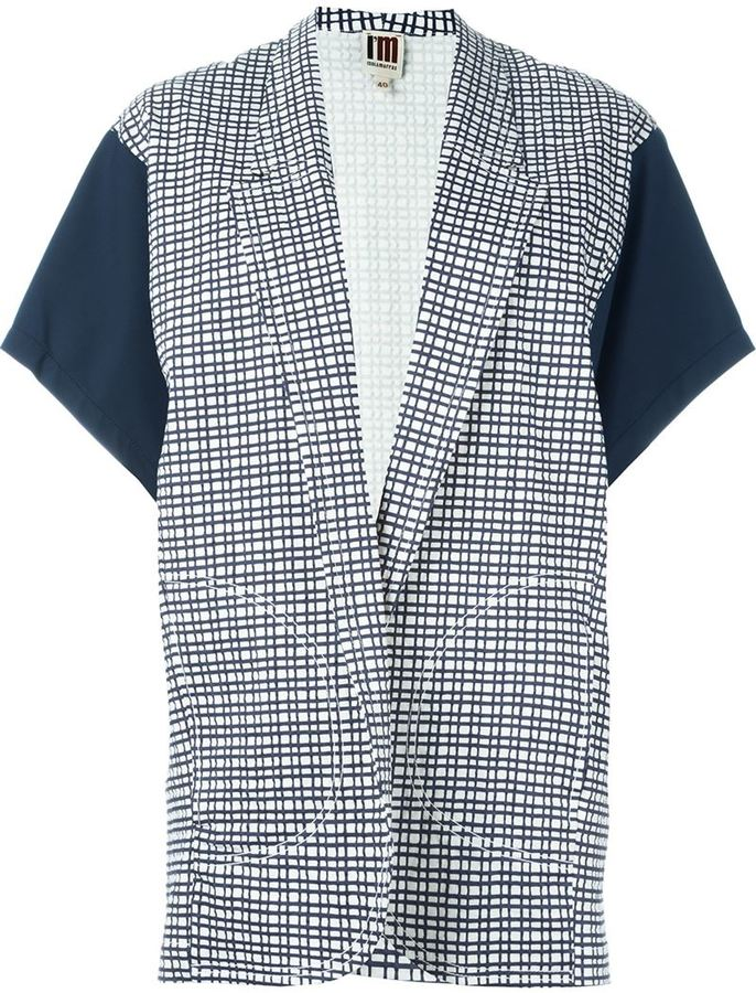 I'M Isola Marras kimono sleeve checked blazer