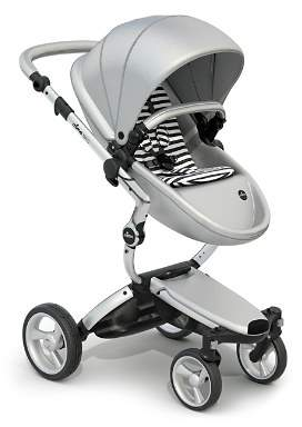 Mima Xari Stroller Starter Pack with Silver Chassis