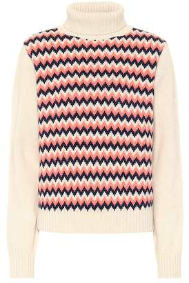 A.P.C. Jacquard wool sweater