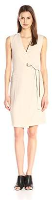 Theory Women's Livwilth Admiral Crepe Wrap Dress