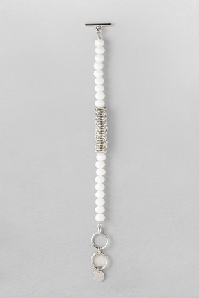French Connection Faceted T-Bar Bracelet