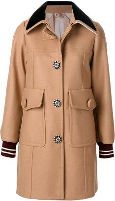çarge pocket coat