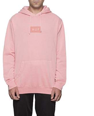 HUF Men's Bar Logo Overdyed Pullover
