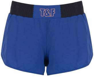 Track & Field panelled shorts