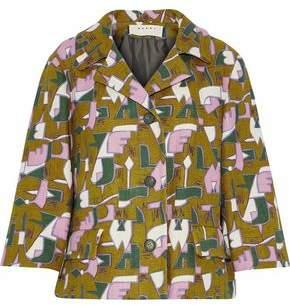Marni Printed Tweed Jacket