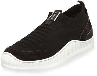 Ermenegildo Zegna Men's TECHMERINO Wave Slip-On Sock Sneakers