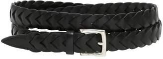 Etro 25mm Woven Leather Belt
