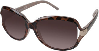 ROCAWEAR Rocawear Rhinestone-Accent Vented Oval Sunglasses $28 thestylecure.com