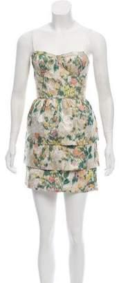 Alice + Olivia Printed Mini Dress