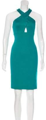 Alice + Olivia Knee-Length Halter Dress w/ Tags