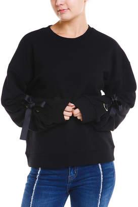 Elan International Tie Sleeve Sweater