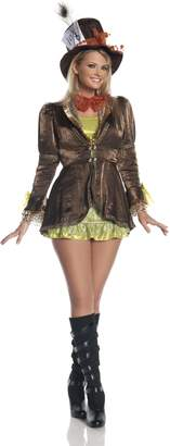 Mystery House Plus Size Mad Hatter Costume