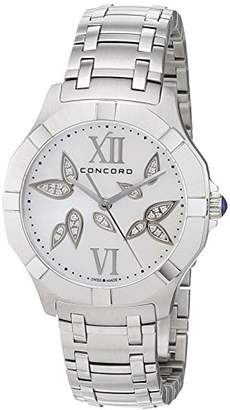 Concord Womens Analogue Classic Quartz Watch with Stainless Steel Strap 320302