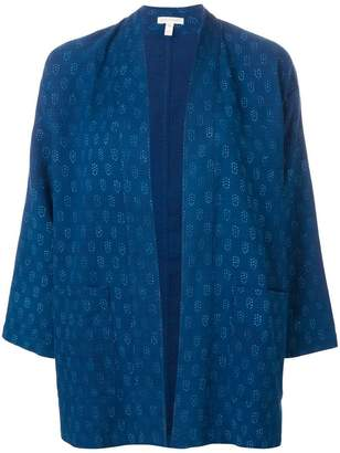 Eileen Fisher printed kimono jacket