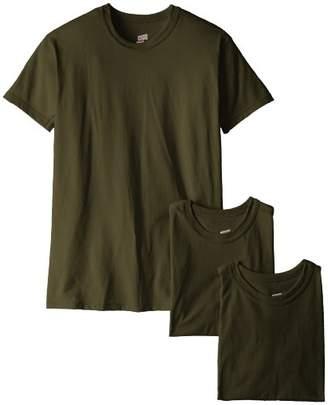 Soffe Men's 3-Pack Short Sleeve Crew Neck Military T-Shirt