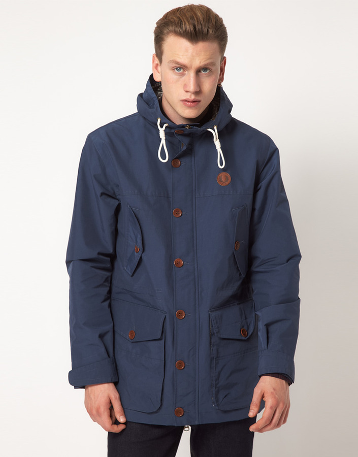 Fred Perry Parka Hooded