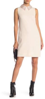 Betsey Johnson Scuba Crepe Shift Dress