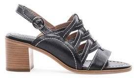 Bernardo Blaine Strappy Leather Sandals