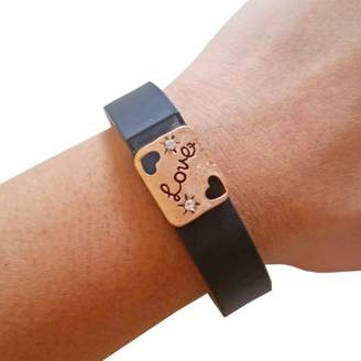 Funktional Wearables The LOVE Charm in Copper-Fitbit Flex