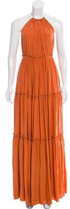 Derek Lam Silk Maxi Dress