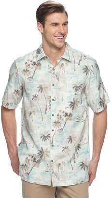 Americana Big & Tall Batik Bay Classic-Fit Tropical Shirt
