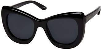 Le Specs Queenie 51mm Cat-Eye Sunglasses