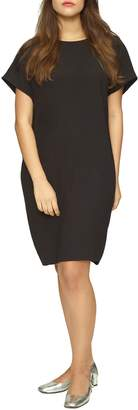 Universal Standard Luxe Twill Sheath Dress