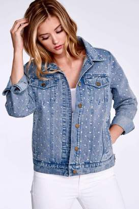 Elliott Lauren Dazzle Denim Jacket