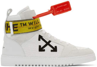 Off-White White Industrial High-Top Sneakers