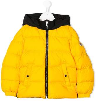 Moncler colour block padded jacket