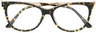 Jimmy Choo Eyewear cat eye glasses