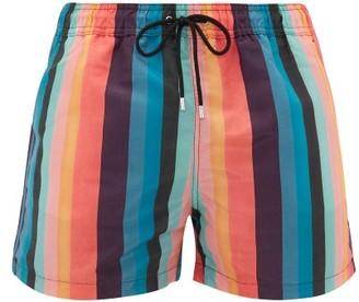 Paul Smith Striped Swim Shorts - Mens - Multi