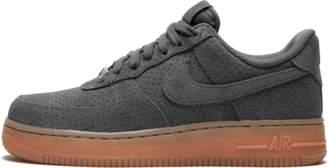 Nike Womens Air Force 1 '07 Suede Dark Grey