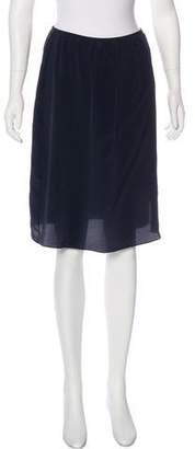 Studio Nicholson Silk Knee-Length Skirt