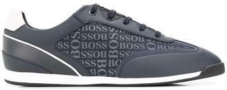 HUGO BOSS logo print sneakers