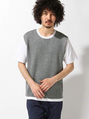 Men's Bigi (メンズ ビギ) - MEN'S BIGI クルーネックネック コンビネーションTシャツ メンズ ビギ カットソー