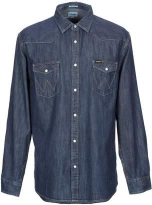 Wrangler Denim shirts - Item 42731825SQ
