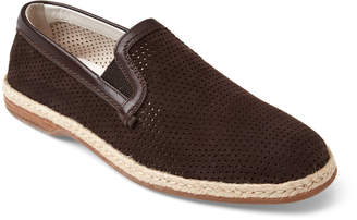 Dolce & Gabbana Perforated Suede Slip-On Espadrilles