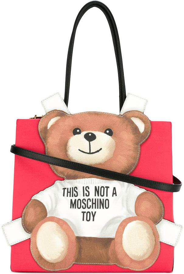 MoschinoMoschino teddybear tote